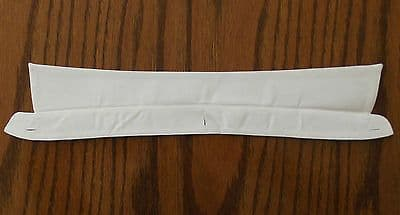 CC41 shirt collar 15 vintage 1940s war UTILITY clothes WW2 white CLIMAX STAR